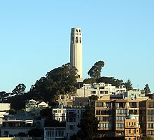 Coit Tower, San Francisco by damonmattson