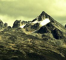 Moody mountains by Michelle Dry