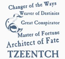 Tzeentch, Architect of Fate Blue Kids Clothes