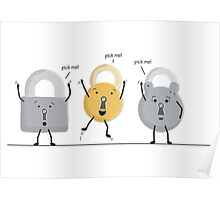 lock picking Poster