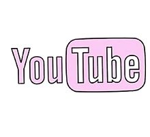 Youtube Logo in PINK! by maddytees