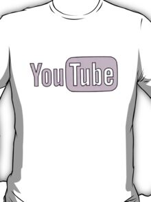 Youtube Logo in PINK! T-Shirt
