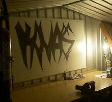 Shed painting I did by VADesigns