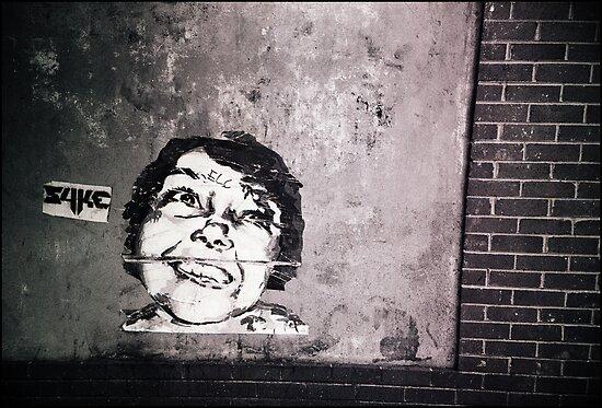 smile or die punk.... by Juilee  Pryor