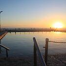 Mona Vale Beach, Sydney Sunrise by Jane Wilkinson-Franssen