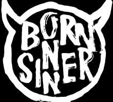 J Cole - Born Sinner Devil (White) by Gerrit 'Jey' Deschuyteneer