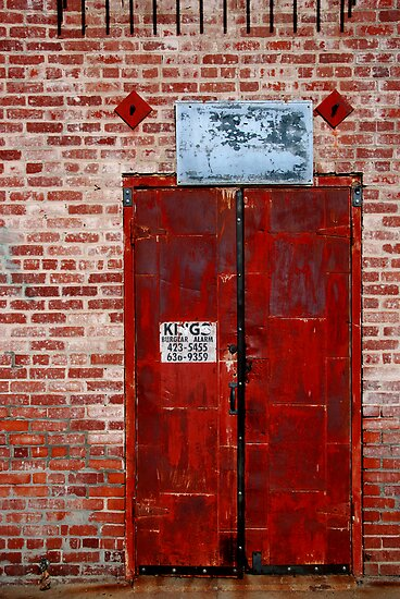 Alley Door by socalgirl