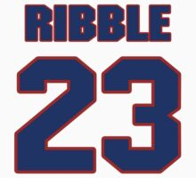 National Hockey player Pat Ribble jersey 23 by imsport