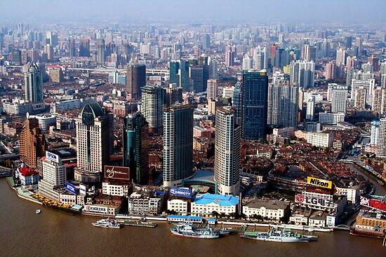 Shanghai City by Tom Nguyen
