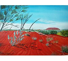 From a Distance, Uluru Australia Photographic Print