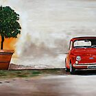 fiat  500 by iconic-arts