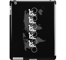 The Bicycle Race 3 White iPad Case/Skin