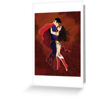 Heroic Love Greeting Card