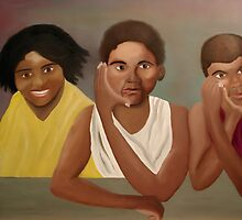Patiently Waiting to Be Immortalized by Weshon  Hornsby