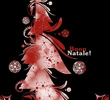 Red tree - (Buon Natale!) by Silver Winter