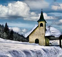 The chapel by Kurt  Tutschek