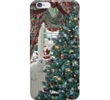 Snowdrop the Maltese - Christmas Morning iPhone Case/Skin