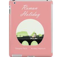 Roman Holiday poster and t-shirts iPad Case/Skin