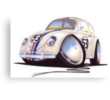 VW Beetle - Herbie Canvas Print