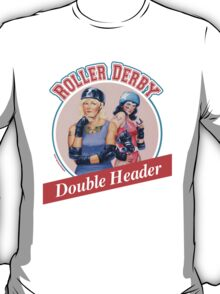 Roller Derby Double Header T-Shirt
