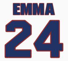 National Hockey player David Emma jersey 24 by imsport
