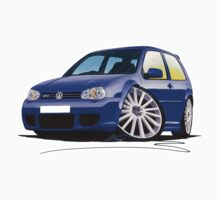 VW Golf (Mk4) R32 Blue by Richard Yeomans