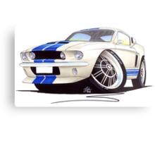 Shelby Mustang GT500 (60s) Metal Print