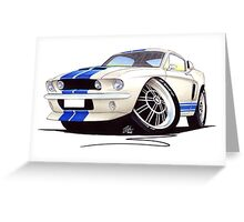Shelby Mustang GT500 (60s) Greeting Card
