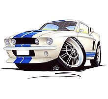 Shelby Mustang GT500 (60s) Photographic Print