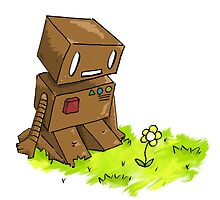 Robot Flower by SAMSIL