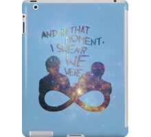 I Swear We Were Infinite II iPad Case/Skin