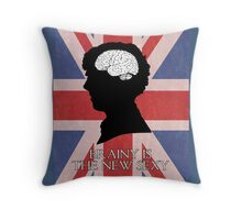 Brainy Is The New Sexy Throw Pillow
