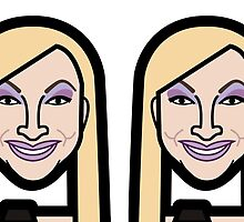 Charlotte Nillson Mug by minipopicons
