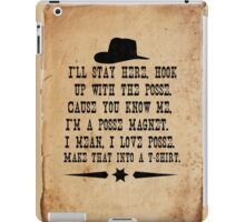 I Love Posse iPad Case/Skin