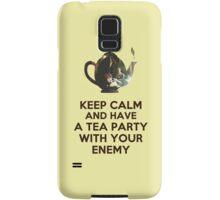 Tea Party Samsung Galaxy Case/Skin