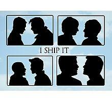 I Ship it V Photographic Print