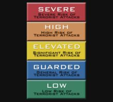 The Homeland Security Advisory System scale by lapart