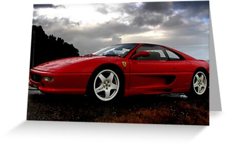 Ferrari 355 Challenge Posing by Ash Simmonds