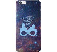 I Swear We Were Infinite III iPhone Case/Skin