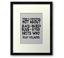 British Villains Framed Print