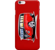 VW Splitty (11 Window) Camper (E) iPhone Case/Skin