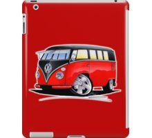 VW Splitty (11 Window) Camper (E) iPad Case/Skin