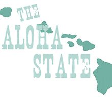 Hawaii State Motto Slogan by surgedesigns