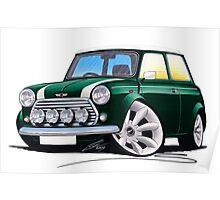 Rover Mini Cooper Sport BRG Poster