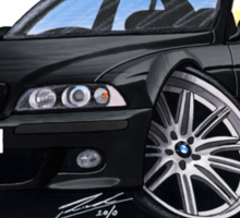 BMW M5 (E39) Black Sticker