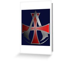 Assassins Creed Allegiance  Greeting Card