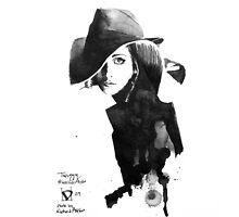Twiggy (by Richard Avedon) by Daniel Moyano