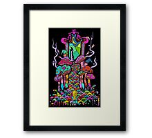 Welcome to Wonderland Framed Print
