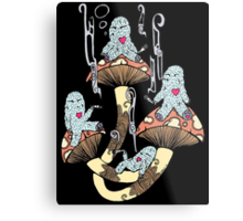 Four Little Monsters Metal Print