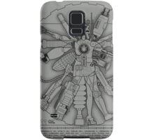 Vitruvian Machine (White) Samsung Galaxy Case/Skin